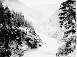 Eight Mile Canon [Canyon], Fraser River, British Columbia.