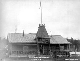"""Dominion Goverment Telegraph Office, Caribou, Y.T."""