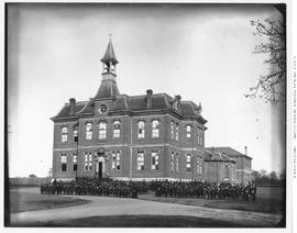 The second Victoria High School and its pupils; 1882 to 1902; before the Central Boys' Schoo...