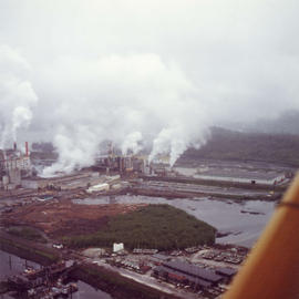 Cancel [Canadian Cellulose] Pulp Mill, Port Edward.