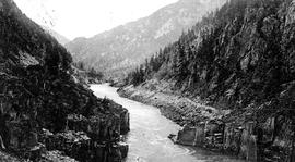 """Hell's Gate, Fraser River Canyon, BC."""