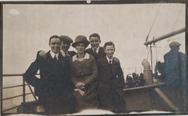 Group photo including Eustace R. Bidlake