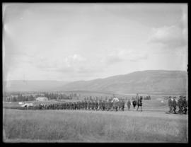 Soldiers marching, Vernon
