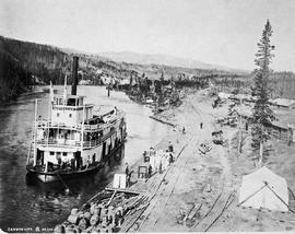 """Canyon City""; sternwheeler Australian."