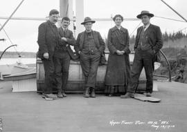 """Upper Fraser River, SS BX""; Butterfield, George V. Copley, Gold, Ada Swannell, Frank S..."