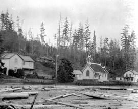 Unidentified settlement on the coast; miscellaneous E album
