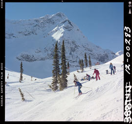 Skiing At Snow Valley Fernie