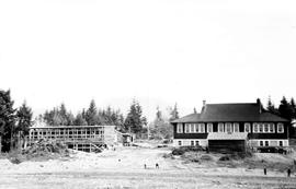 Construction at Cranberry Lake School