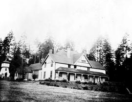 Andrew J.W. Keating's home at Koksilah on Vancouver Island.