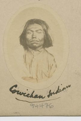 Cowichan Indian.