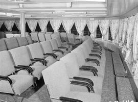 The observation deck aboard the Princess of Nanaimo