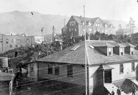 Post Office and Premier Hotel, Prince Rupert.