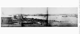 Victoria in five parts; taken from the Bird Cages; see A-01262, A-02850, G-03665, G-04030, G-04031.