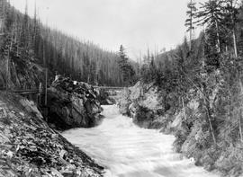 """Beaver Canyon, Selkirks, BC""; Illecillewaet Valley."