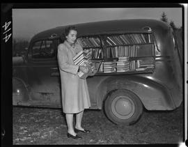 Bookmobile Of The Vancouver Island Union Library