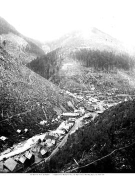 Sandon, on Carpenter Creek; showing the Ruth Hope Mine.