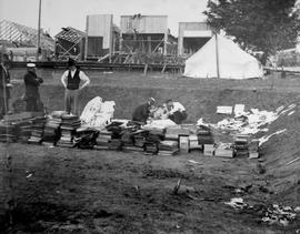 New Westminster; Aftermath Of The Fire; Retrieving Courthouse Records.