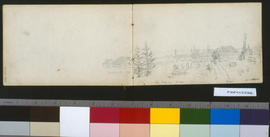 New Fort Langley: S. View (Village In Distance), 'The Hall'.