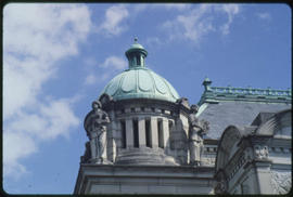Dome On The Legislative Buildings, Victoria