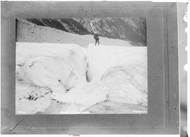 Crevasse in Denver Glacier