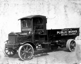 British Columbia Department of Public Works truck, Vancouver