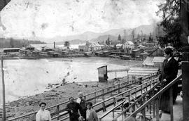 Sawmill at Queen Charlotte City.