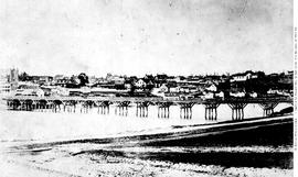 First James Bay Bridge, Built 1859; View From The Grounds Of The Birdcages.