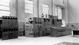 Switch-board of the West Kootenay Power and Light Company Limited at Upper Bonnington Falls