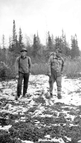 Bedaux expedition; members Frank Swannell and Al Phipps.