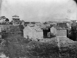 [Canton, China]  16.  The South East angle of the walls of Canton from the entrance to the landin...