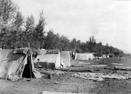 Canadian Pacific Railway Chinese Labourers Camp At Kamloops