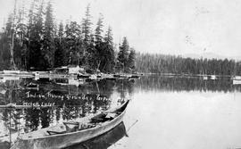 """Indian fishing grounds, Porpoise Bay, Sechelt Inlet."""