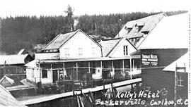 Kelly's Hotel, Barkerville.