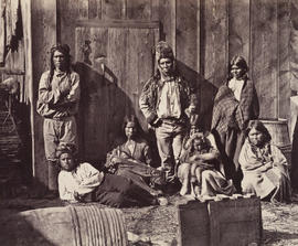 Indian group, Lytton, 57 miles