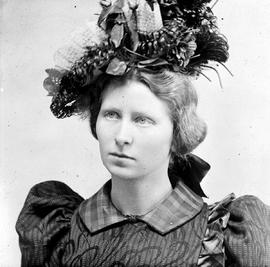 One of Mrs. Maynard's Victoria Police Department photos; Belle Adams, charged with the murde...