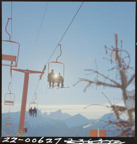 Chairlift At Gibson Pass In Manning Park