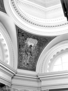 Mural, Rotunda, Legislative Buildings Victoria
