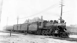 4-6-0 No. 466, 10-Wheeler; at Canadian Pacific Railway station, New Westminster.