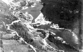 Lower Bonnington Falls, Kootenay River, West Kootenay Power and Light Co. plant
