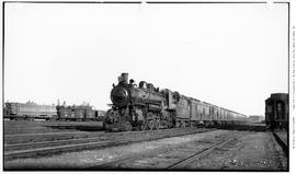 4-6-2, No.2519, Pacific, 3/4 Left, On Passenger, Train 525, In Yards At Calgary, Alta.