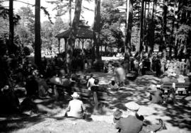 """Pop"" Green's Orchestra playing In Beacon Hill Park"