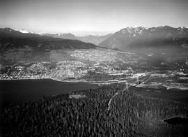 Aerial Of West Vancouver