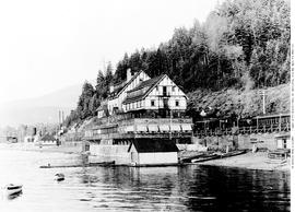 Sicamous Hotel and station.