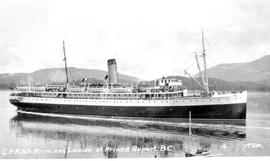 Canadian Pacific Railway SS Princess Louise at Prince Rupert.