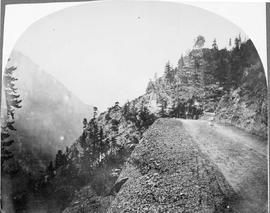 Cariboo Road, Fraser River Canyon.