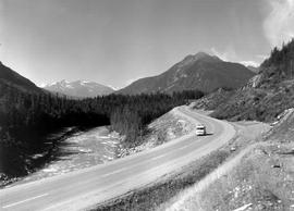 Yellowhead Route, near Mount Robson, looking east.