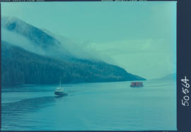 Tugboat In The Inside Passage