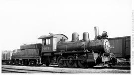 0-6-0 Esquimalt and Nanaimo [E & N] No. 6049 Switcher 3/4 right. Closeup. Lettered for Canadi...