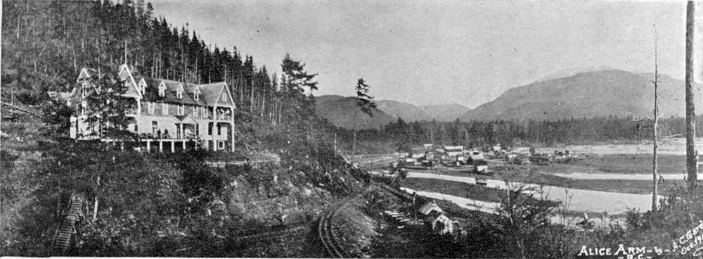 """Alice Arm, BC"" - RBCM Archives"