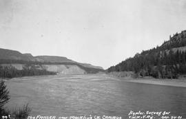 The Fraser River near Macklin's Creek, Cariboo